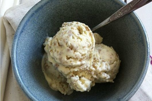 Creamy, Crunchy Grape-Nuts Ice Cream