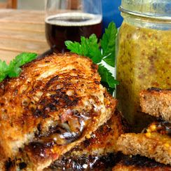 Grilled Beer Sandwich
