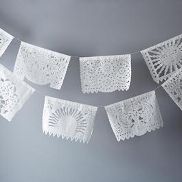 White Mexican Garlands (Pack of 2)