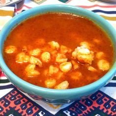 New Mexican Posole Rojo With Freshly Ground Chile Powder