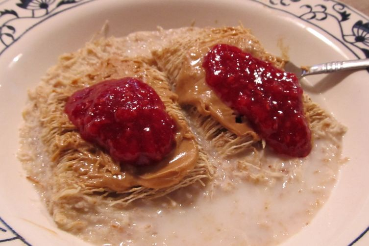 PB & J Shredded Wheat