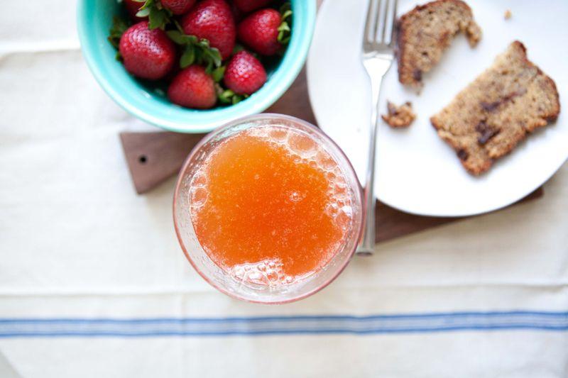 Strawberry-Lemon Radler