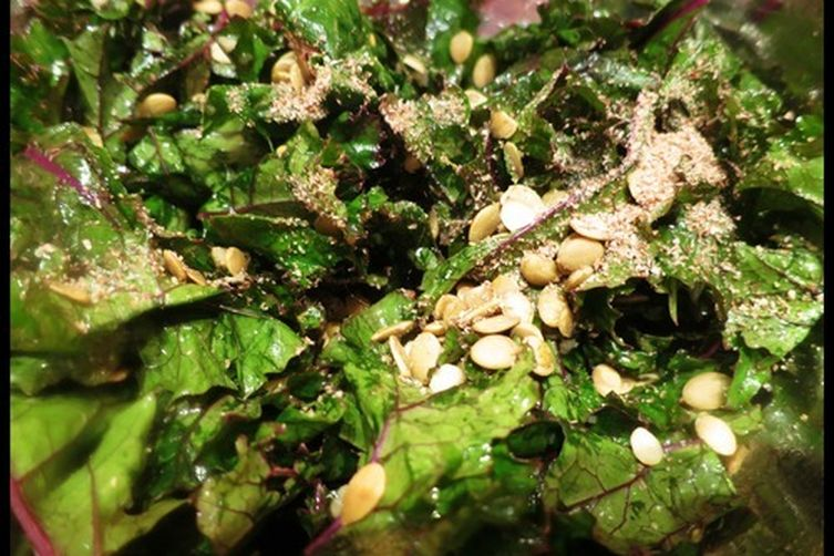 Edible Jewels Kale Salad