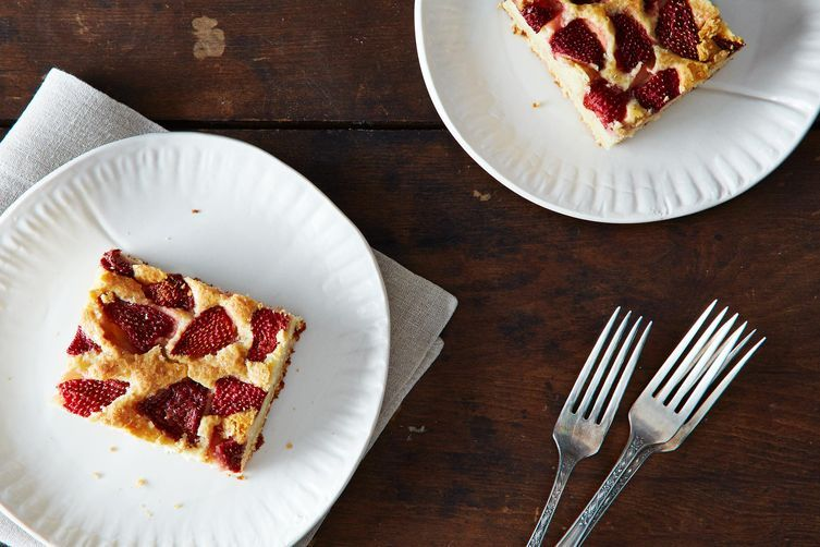Strawberry cake from Food52
