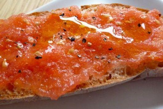 Maltese Bread and Tomato Sandwich