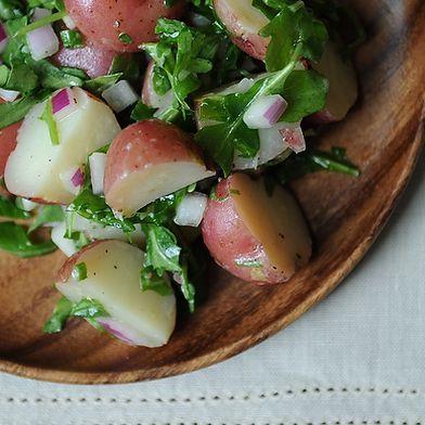 Potato Salad with Arugula and Dijon Vinaigrette
