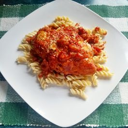 Easy Oven Baked Chicken Parmesan