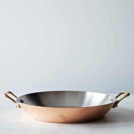 Copper Double-Handled Sauté Pan