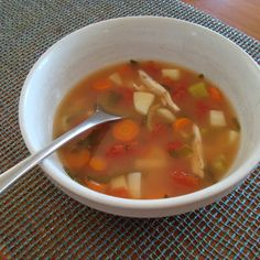 Delicate Chicken Soup
