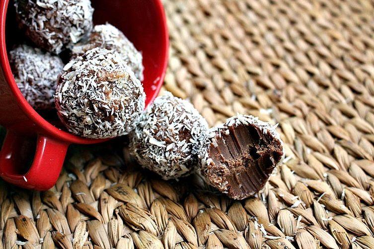 Coconut Fudge Truffles