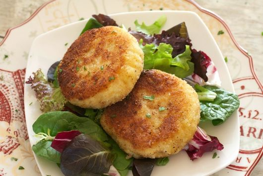 Easy Risotto Cakes