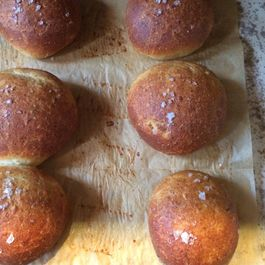 Russet Rollscuits with Herbs and Cheese