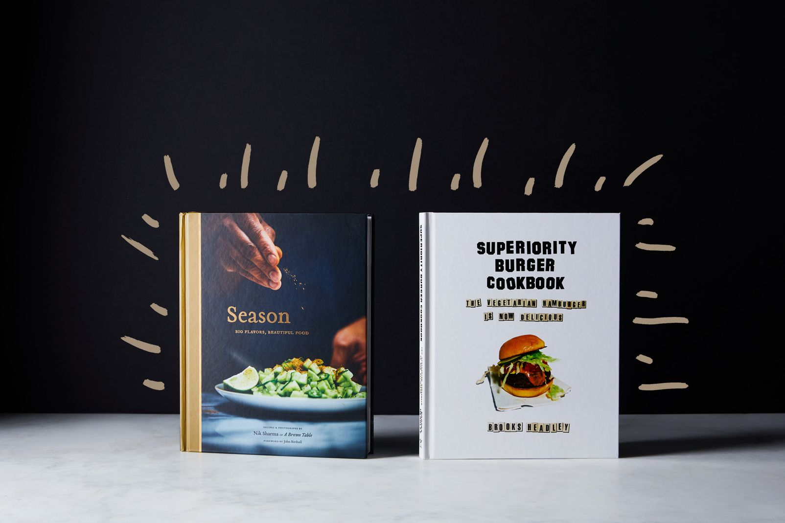 Season vs. Superiority Burger Cookbook