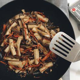 Traditional Korean Rice Pasta