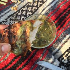 Chargrilled Scallion Salsa Verde
