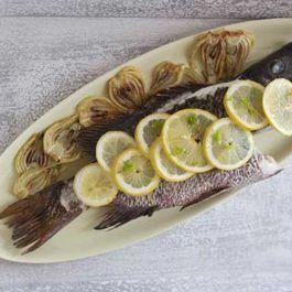 Sea Bass Cooked with Fennel (Branzino Con Finocchio)