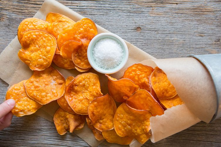 The Perfect Sweet Potato Chips