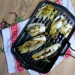 Chargrilled Rosemary Endive Salad