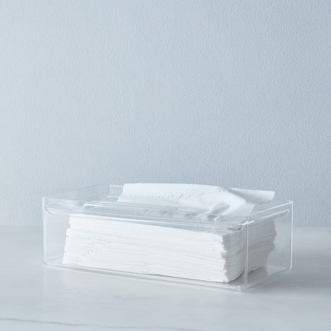 Acrylic Tissue Case
