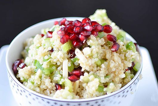 Holiday Pomegranate Quinoa Salad