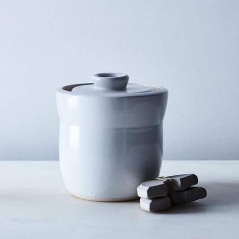 Handmade Ceramic Fermentation Jar