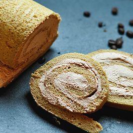Espresso Mocha Roll Cake