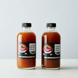 Spiced Peach Shrub (2 Bottles)