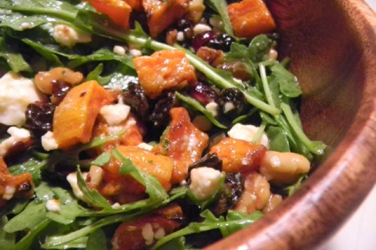 Roasted Ernut Squash Salad