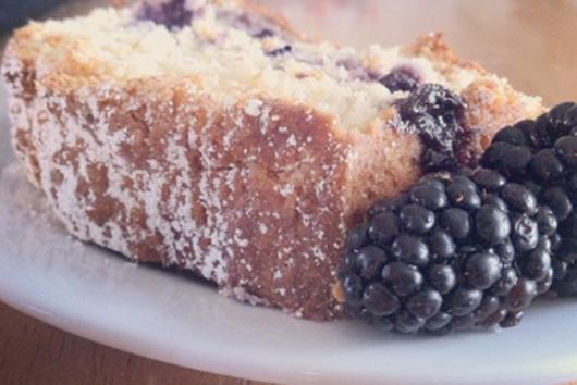Lemon Blackberry Coffee Cake