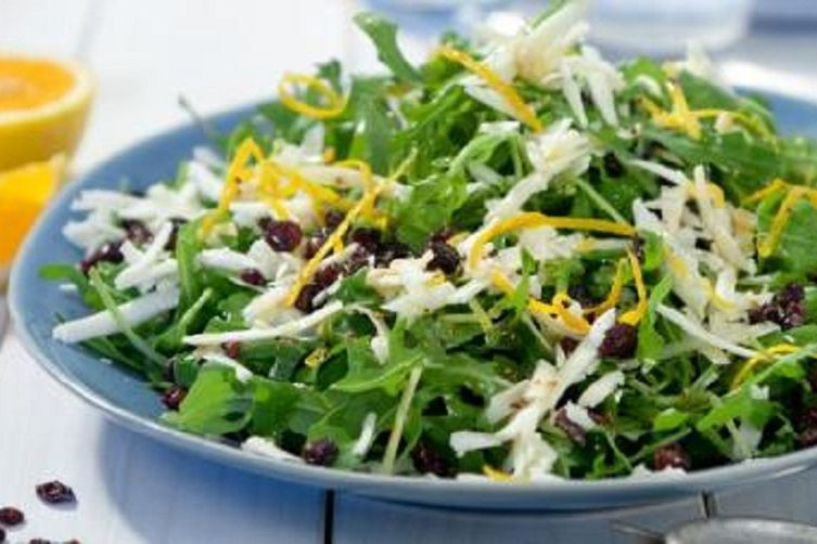 Arugula / Rocket Salad With Melichloro Cheese