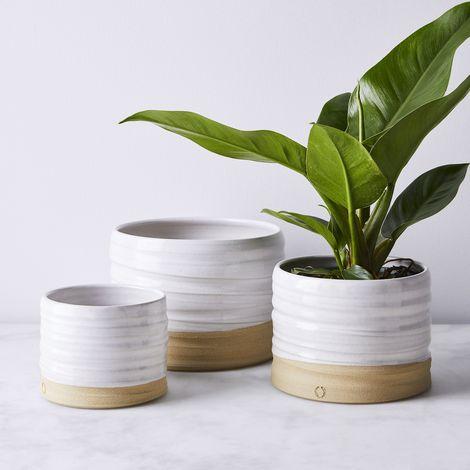 Handmade Stoneware Planters