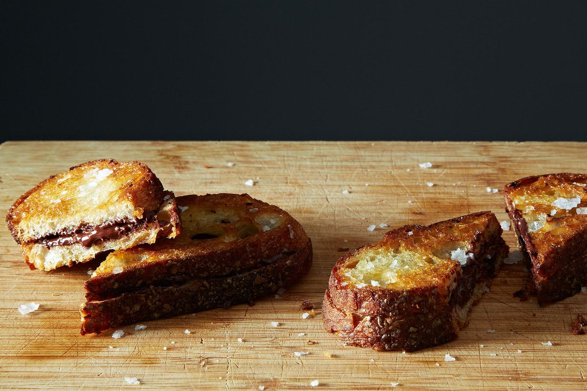 Grilled Chocolate Sandwich Recipe -- Easy Desserts