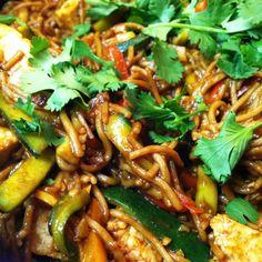 Soba Stir-Fry with Zucchini