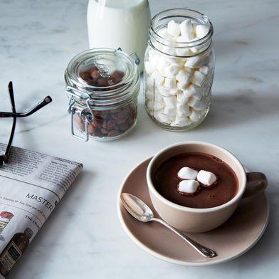 Yemen Hot Chocolate with Ginger & Cinnamon