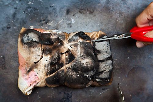 Steven Raichlen's Salt-Crusted Beef Tenderloin Grilled in Cloth (Lomo al Trapo)
