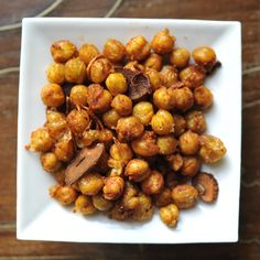 Smoky Fried Chickpeas