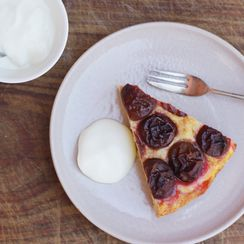 Plum and Ricotta Tart (Torta di Susine)