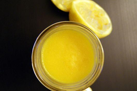 Healthier Lemon Curd