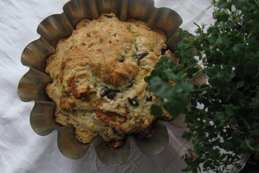 Savory Olive Cake
