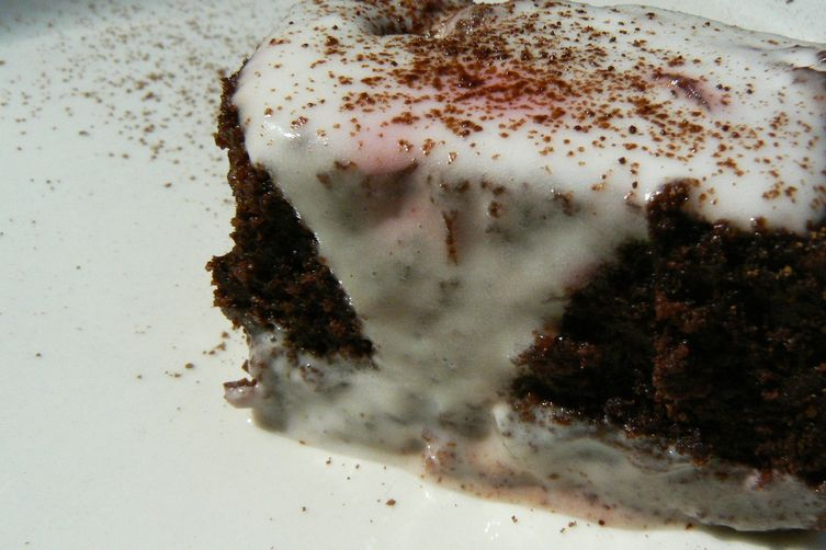 Chocolate Beetroot & Black Tea Cake with Sweet Cream Cheese Icing