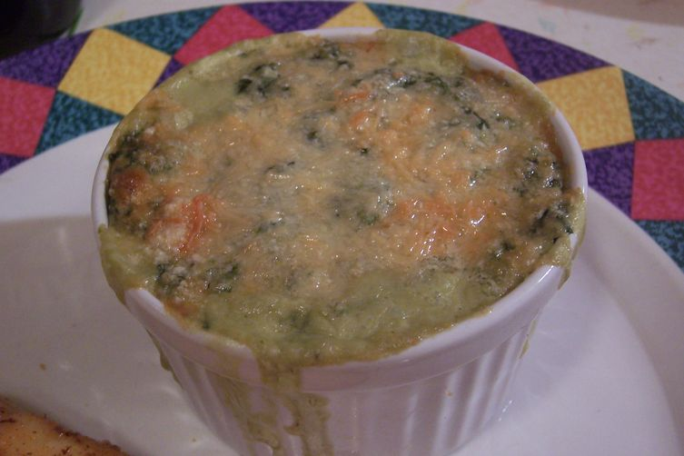 Cream of Spinach Bake