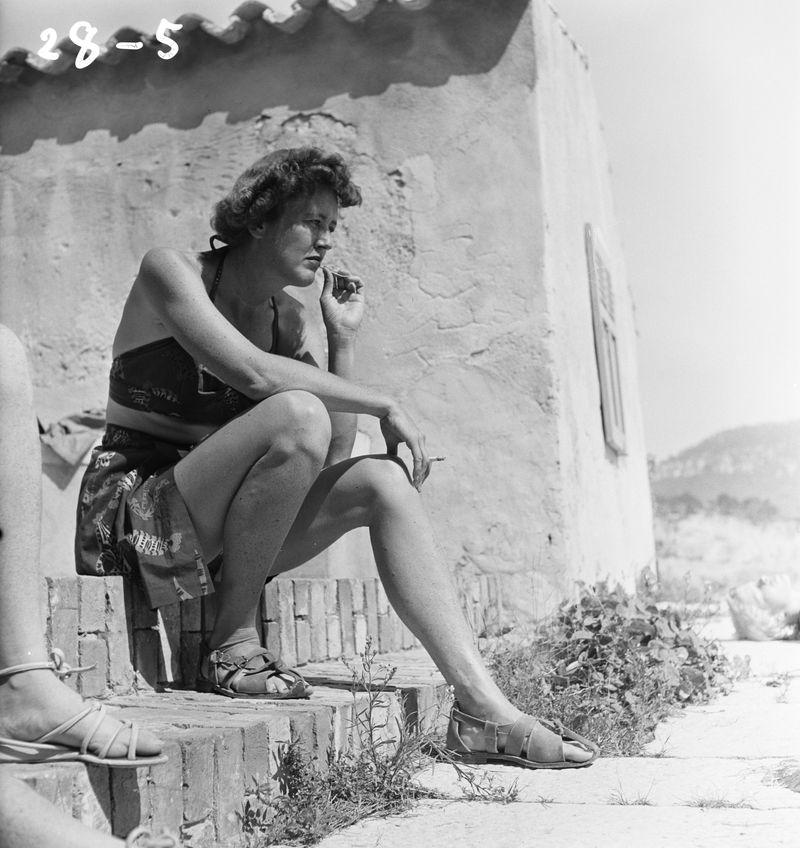 Julia, Cassis, 1950