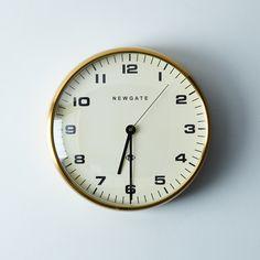 Chrysler Brass Wall Clock