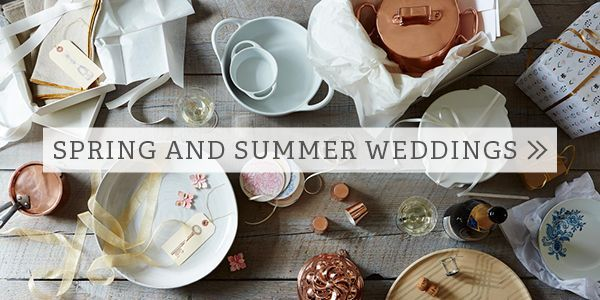 Spring and Summer Weddings Food52 Wedding Registry