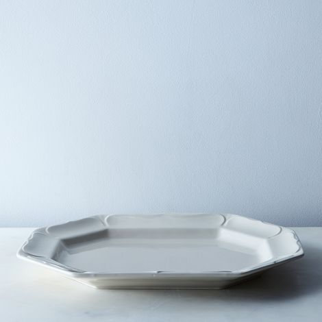 Lotus Stoneware Platter