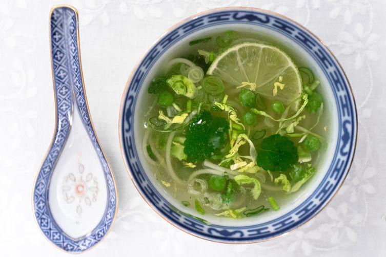Wintergreen Soup