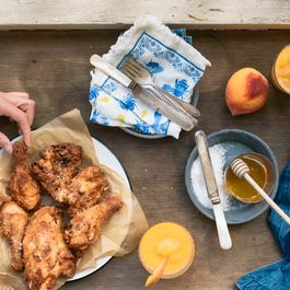 buttermilk + black tea brined fried chicken