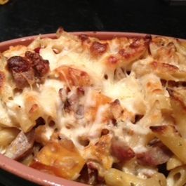 Harvest Baked Penne with Sausage