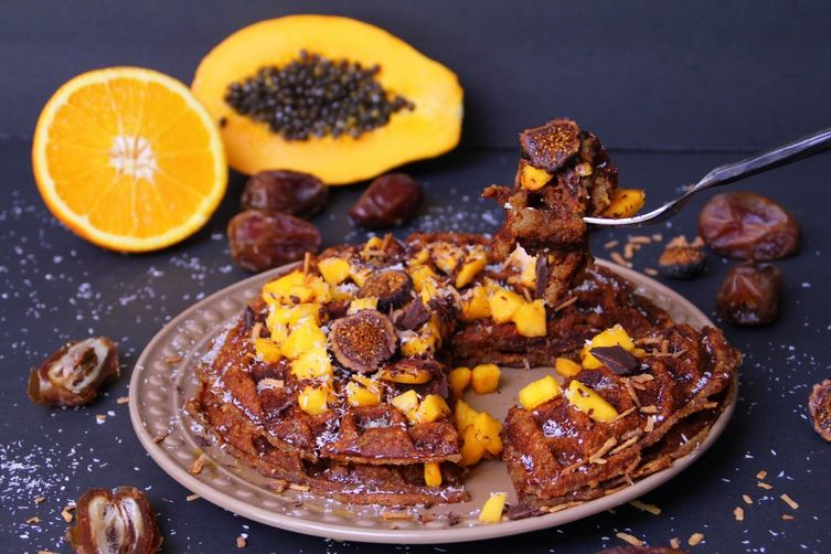 Grain Free – Paleo Waffles with Coconut Flour