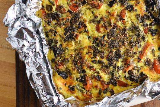 Eggplant Cheesecake